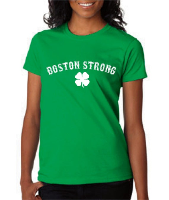 Boston strong t shirt great support boston fans irish gift for Boston strong marathon t shirts