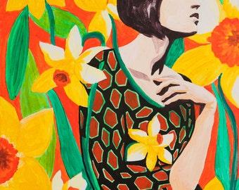 Daffodil – Archival Art Print