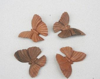 Butterfly wooden