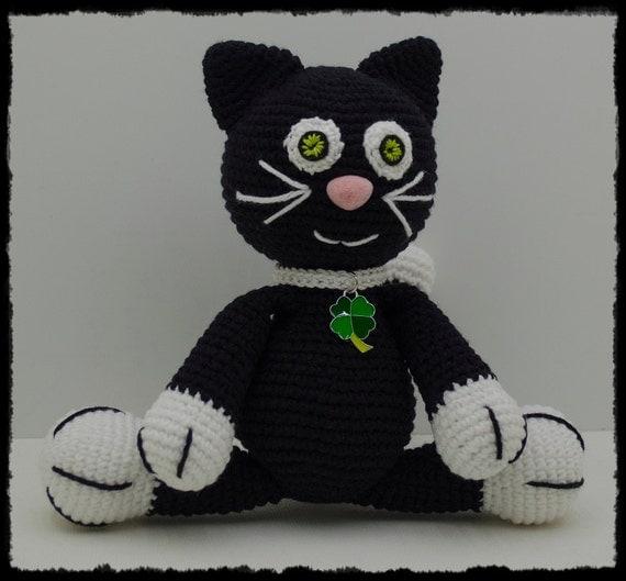 Cat Black Lucky Etsy