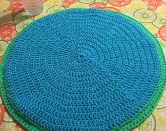 Reversible Crocheted Pet Mat
