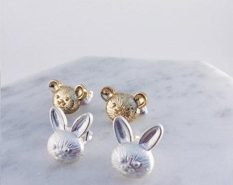 Rabbit & Bear Friends!