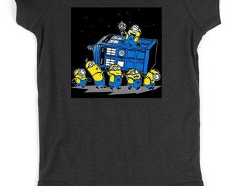 Minions Found The TARDIS Onsie!