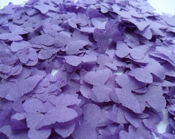 Purple Butterfly Biodegradable Tissue Paper Confetti Wedding Party