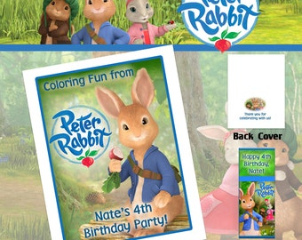 Tales of Peter Rabbit Coloring Book with Crayons