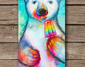 Polar Bear and the Popsicle iPhone 5/5S iPhone 6 iPhone 6 Plus Case