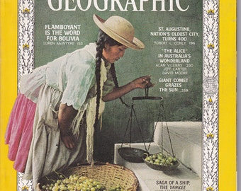 National Geographic February 1966