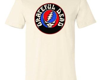 Vintage Grateful Dead skull graphic printed on T shirt men size S,M,L,Xl,Xxl,3Xl,4Xl, T-188