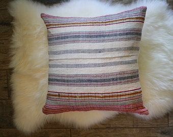 Hemp + Linen Pillow Cover