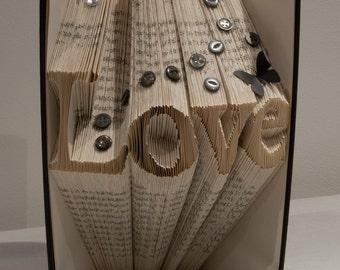 Love Book Fold/Art Template