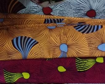 African Fabric, WHITE GOLD FABRIC, Ankara Print, Multicolored Ankara, African Print, Ankara Fabric, Prints