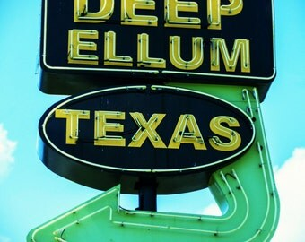 Deep Ellum, Texas Wall Art, Dallas Photography, Texas Photography, Travel Photography