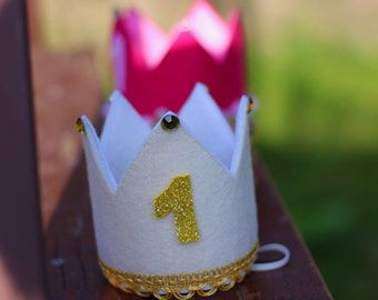 First Birthday Crown girl, 1st. Birthday Crown Girl, Party Supply Girl