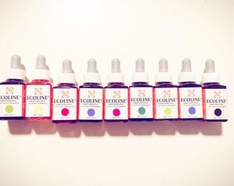 Talens ECOLINE liquid watercolour - 20mls