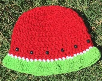 Summer/Spring Watermelon Baby Beanie/Sun Hat