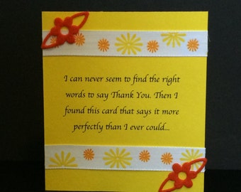 Handmade Sarcastic Thank You Notes (Set of 4)