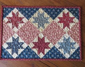 Tablemat - Patriotic Stars