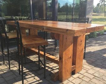 Handcrafted Indoor/Outdoor Bar Tables
