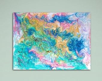 """Original Abstract Painting, Modern Art, Wall Decor, Contemporary Art, 18"""" x 24"""""""