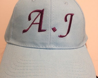 personalised embroidered baseball cap