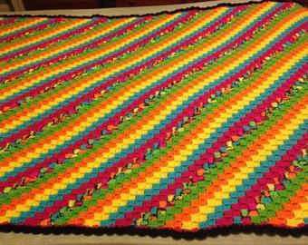 Bright Multicolored Twin C2C