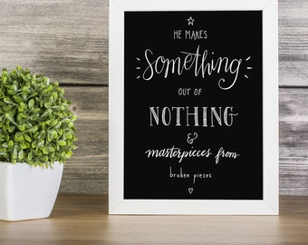 INSTANT DOWNLOAD: Something Out Of Nothing ~ 6 colors INCLUDED!