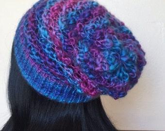 Galaxy Knit Slouchy Beanie