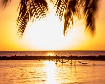 Nature photography - Caribbean Sunset
