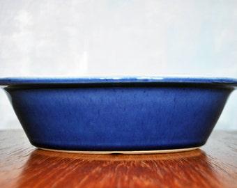 Vintage Denby Stoneware - Cottage Blue Collection - Pie Dish