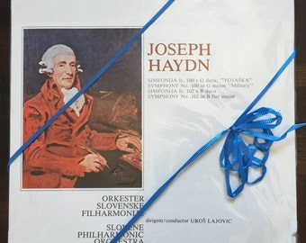 "Vinyl: Joseph Haydn Symphony No. 100 in G major ""Military"""