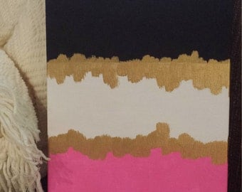Kate Spade Inspired Acrylic Canvas Painting