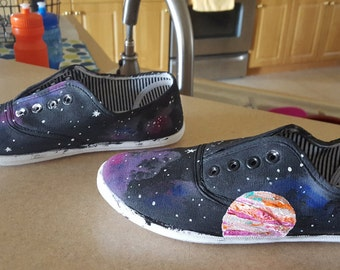 custom space shoes