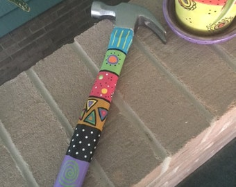 Hand-Painted Hammer