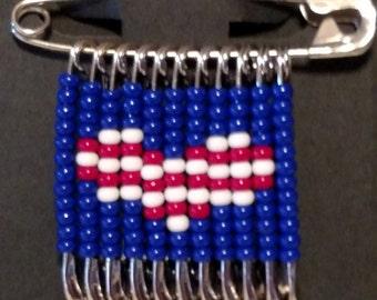American love pin