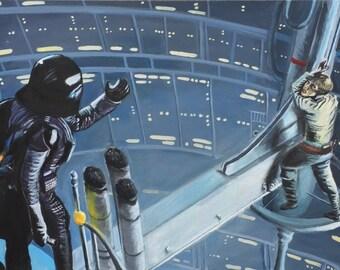 Star Wars Episode V Painting