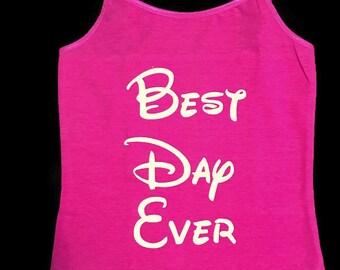 Best Day Ever Disney Shirt
