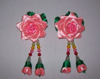 Pink rose doubles