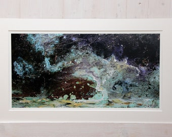Stormy Waters: Limited Edition Giclée Print of Original Painting by Jessica Elleray