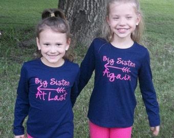 Big Sister Again/ Big Sister at Last Shirts