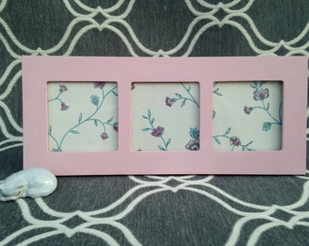 Pink Picture Frame - Light Pink Frame - Photo Frame