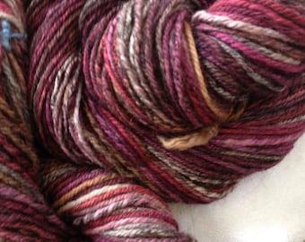 handspun Polworth / Alpaca  3 ply yarn  listing #2