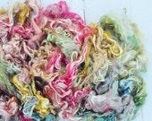Suri Alpaca Locks - Hand Dyed - Silky and Soft - Bohemian - 5.3 ounces