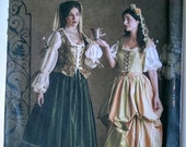Simplicity Renaissance Costume Collection Pattern 3808 - from 2007 - Uncut - Sizes 10, 12 & 14