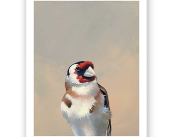 SALE! The Ability To Instantly Suss Out A Hot Mess Is Essential... 8 x 10 Art Print - Bird - Goldfinch - Animal - Nature - Gift