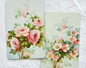 Beautiful Floral Vintage Playing Cards (package of 6)