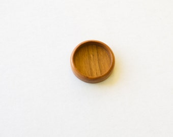 Neatly Finished DEEP Wooden Tray - Cherry - 30 mm - (Z303d-C)