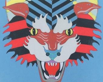 Tiger #2 - Original Art Painting