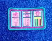 Fashion Plates Patch