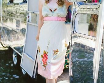 Rubypearl Vintage Sunset Slip Dress