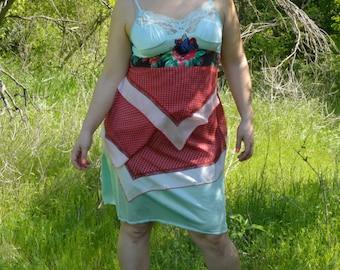 Rubypearl Put a Bird on it Slip Dress